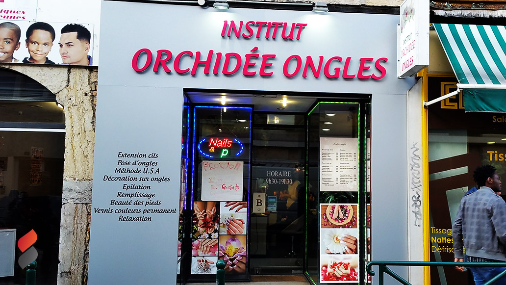 Institut orchidée ongles